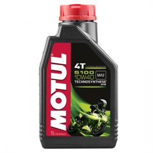 Моторное масло Motul 5100 4T SAE 10W40, Объем 1 л, ОЕМ-код 104066