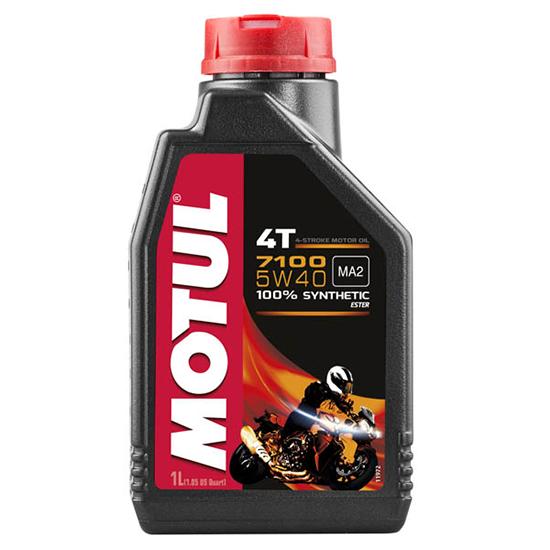 Моторное масло Motul 7100 4T SAE 5W40, Объем 1 л, ОЕМ-код 104086