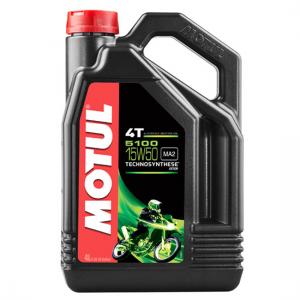 Моторное масло Motul 5100 4T SAE 15W50, Объем 4 л, ОЕМ-код 104083