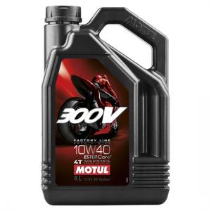 Моторное масло Motul 300V 4T FL ROAD RACING SAE 10W40, Объем 4 л, ОЕМ-код 104121
