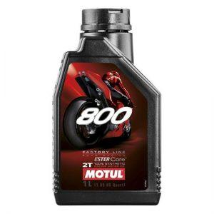 Моторное масло Motul 800 2T FL ROAD RACING, Объем 1 л, ОЕМ-код 104041