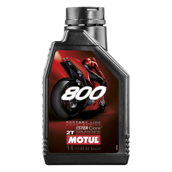 Моторное масло Motul 800 2T FL ROAD RACING, Объем 1 л, ОЕМ-код 104041