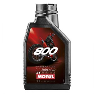 Моторное масло Motul 800 2T FL OFF ROAD, Объем 1 л, ОЕМ-код 104038