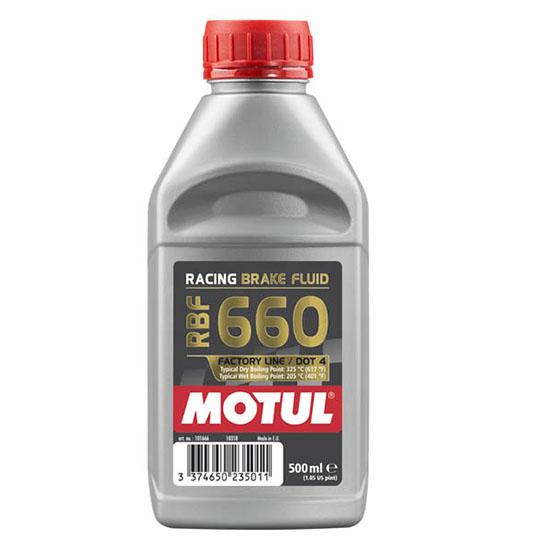 Тормозная жидкость Motul RBF 660 FL, Объем 500 мл, ОЕМ-код 101666