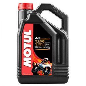 Моторное масло Motul 7100 10W 40 (SAE), Объем 4 л