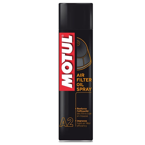 Смазка А2 Motul Air Filter Oil Spray, Объем 400 мл, ОЕМ-код 102986