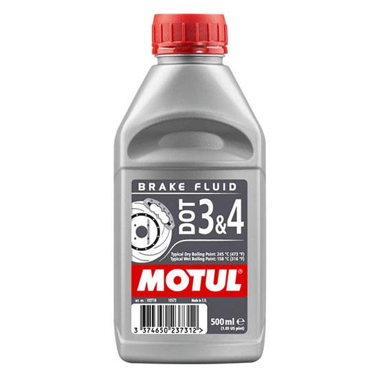 Тормозная жидкость Motul DOT 3&4 Brake Fluid FL, Объем 500 мл, ОЕМ-код 102718