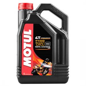 Моторное масло Motul 7100 4T SAE 15W50, Объем 4 л, ОЕМ-код 104299