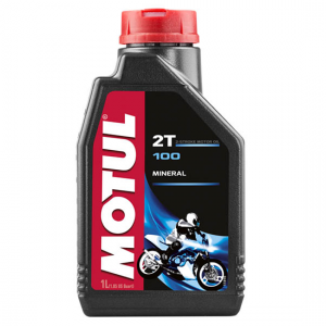 Моторное масло Motul 100 2T, Объем 1 л, ОЕМ-код 104024