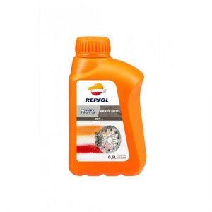 Тормозная жидкость Repsol DOT 4 BRAKE FLUID, Объем 500 мл, ОЕМ-код 6191/R