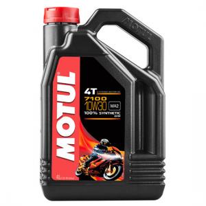Моторное масло Motul 7100 4T SAE 10W30, Объем 4 л, ОЕМ-код 104090