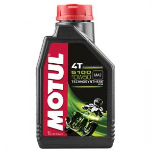 Моторное масло Motul 5100 4T SAE 10W50, Объем 1 л, ОЕМ-код 104074
