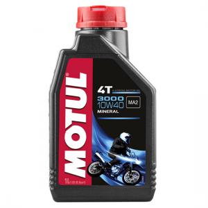 Моторное масло Motul 3000 4T SAE 10W40, Объем 1 л, ОЕМ-код 104045
