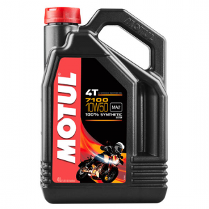 Моторное масло Motul 7100 4T SAE 10W50, Объем 4 л, ОЕМ-код 104098
