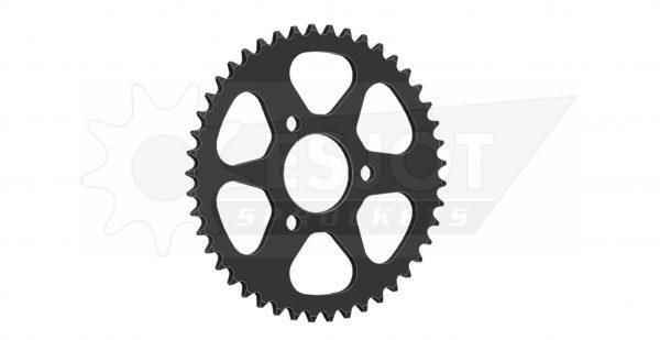 Задняя (ведомая звезда) Esjot 50-13004-45 под 420 цепь , аналог JTR216.36. Для мотоцикла Honda.