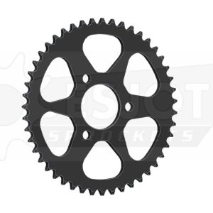 Задняя (ведомая звезда) Esjot 50-13004-47 под 420 цепь , аналог JTR216.47. Для мотоцикла Honda.