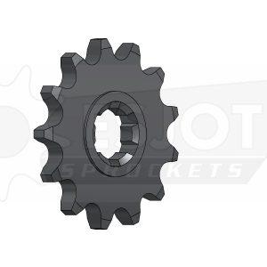 Передняя (ведущая звезда) Esjot 50-13012-13 под 420 цепь, (аналог JTF413.13) для мотоцикла Suzuki.