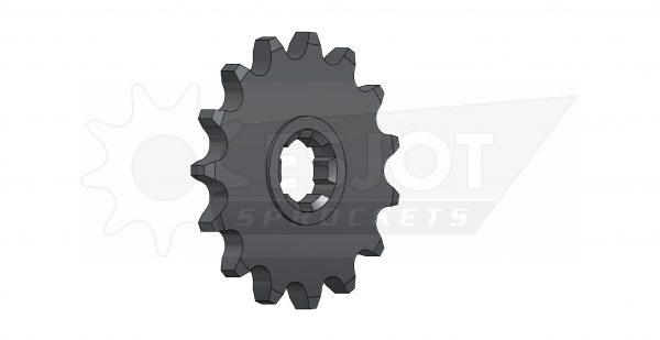 Передняя (ведущая звезда) Esjot 50-13012-15 под 420 цепь, (аналог JTF413.12) для мотоцикла Suzuki.