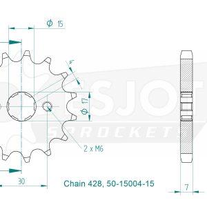 Передняя звезда Esjot 50-15004-15 (аналог JTF274.15)