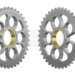 Ведомая звезда мотоцикла Ducati Задняя звезда Esjot 50-29036-39 (аналог JTR752.39 / JTA750B)
