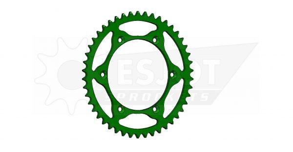 Задняя звезда Esjot 50-32024-46LG (аналог JTR460.46) Ultralight Steel / green