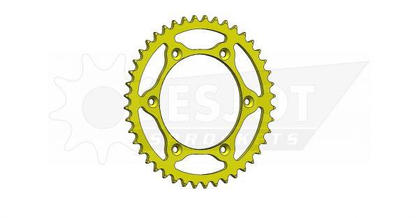 Задняя звезда Esjot 50-32041-44LY (аналог JTR808.44) Ultralight Steel / yellow