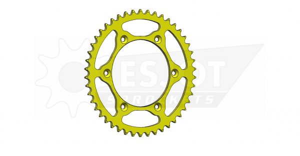 Задняя звезда Esjot 50-32041-46LY (аналог JTR808.46) Ultralight Steel / yellow