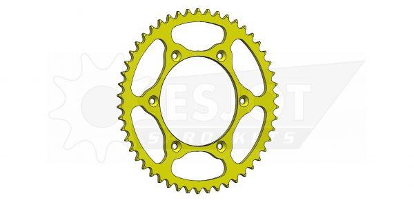 Задняя звезда Esjot 50-32041-50LY (аналог JTR808.50) Ultralight Steel / yellow