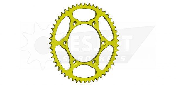 Задняя звезда Esjot 50-32041-51LY (аналог JTR808.51) Ultralight Steel / yellow