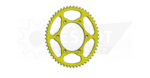 Задняя звезда Esjot 50-32041-52LY (аналог JTR808.52) Ultralight Steel / yellow