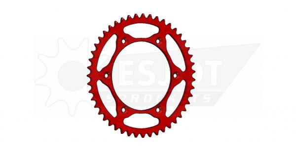Задняя звезда Esjot 50-32043-47LR (аналог JTR822.47) Ultralight Steel / red
