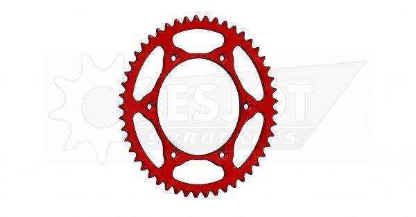 Задняя звезда Esjot 50-32043-49LR (аналог JTR822.49) Ultralight Steel / red