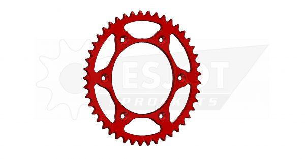 Задняя звезда Esjot 50-32045-45LR (аналог JTR301.45) Ultralight Steel / red
