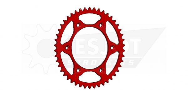 Задняя звезда Esjot 50-32045-46LR (аналог JTR301.46) Ultralight Steel / red