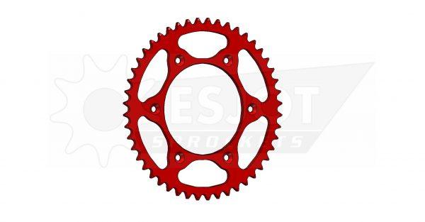 Задняя звезда Esjot 50-32045-48LR (аналог JTR301.48) Ultralight Steel / red