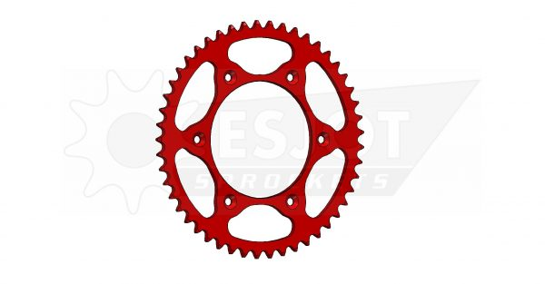 Задняя звезда Esjot 50-32045-49LR (аналог JTR301.49) Ultralight Steel / red
