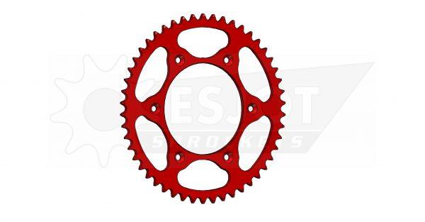 Задняя звезда Esjot 50-32045-50LR (аналог JTR301.50) Ultralight Steel / red