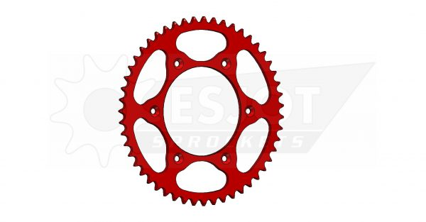 Задняя звезда Esjot 50-32045-51LR (аналог JTR301.51) Ultralight Steel / red