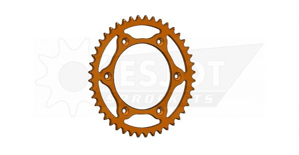 Задняя звезда Esjot 50-32065-44LO (аналог JTR897.44) Ultralight Steel / orange