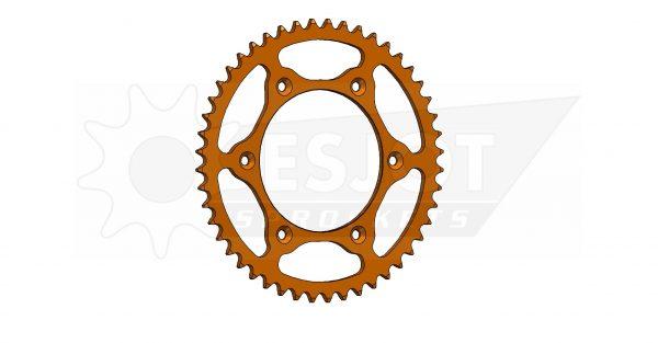 Задняя звезда Esjot 50-32065-48LO (аналог JTR897.48) Ultralight Steel / orange