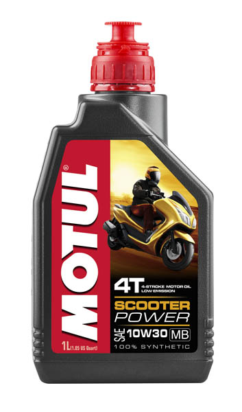 Моторное масло MOTUL Scooter Power 4T MB 10W30 (1 л.)