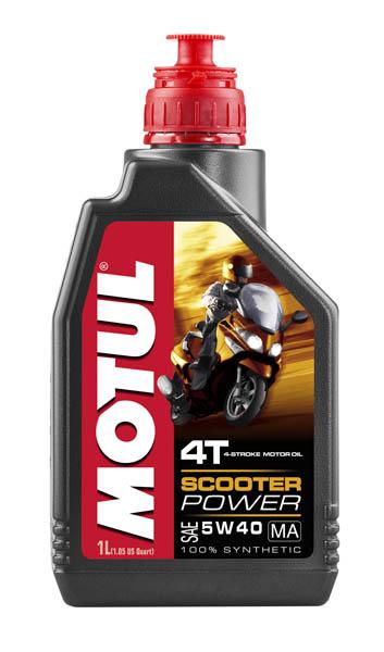 Моторное масло MOTUL Scooter Power 4T MA 5W40 (1 л.)