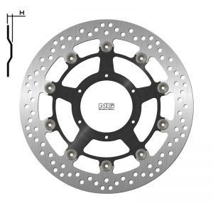 Передний тормозной диск для мото HONDA CBR RR 1000 NG BRAKE 1808G